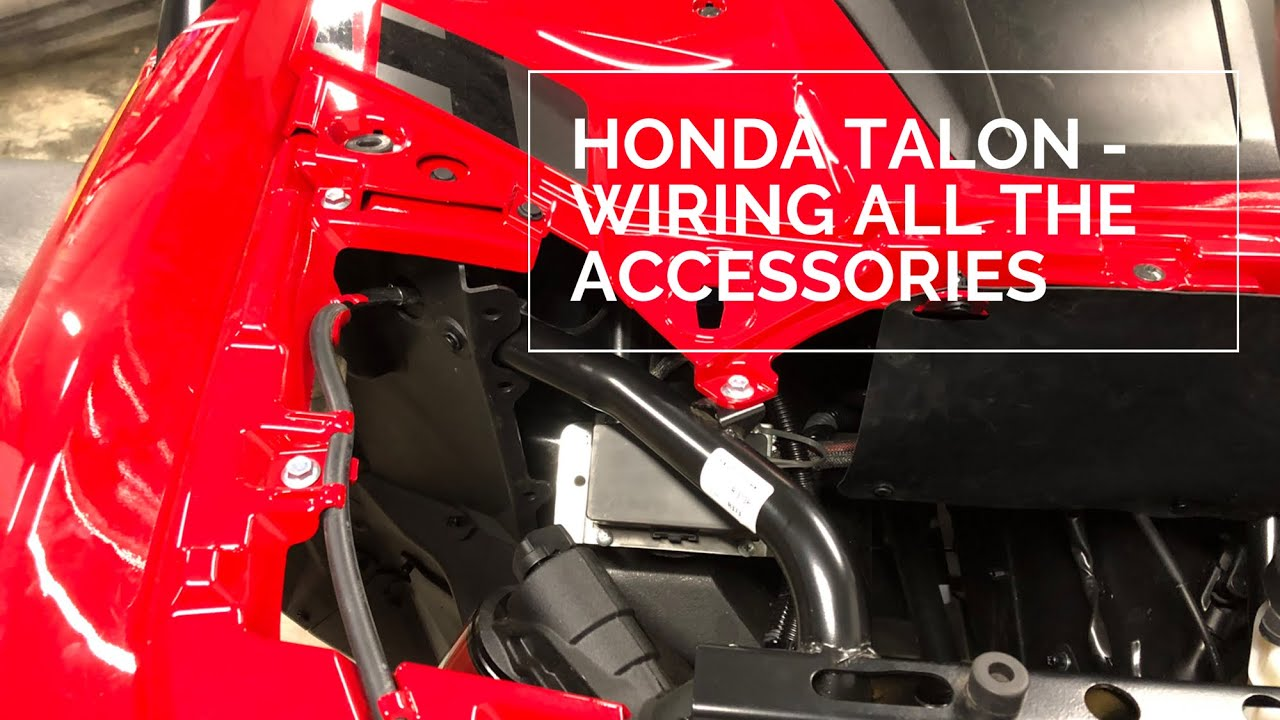 UTV Power Connect Plug-n-Play Wire Harness for Honda Talon 1000 Side by Side SxS.