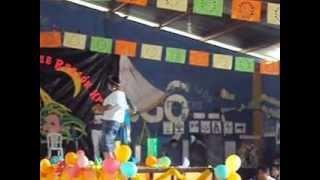 eleccion de la señorita magisterio subregion huista 2012