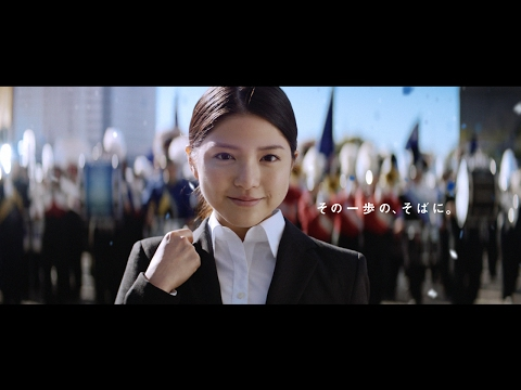 川島海荷が面接に挑む就活生に 就職情報サイト『リクナビ2018』新TV-CM「マーチングバンド」篇&メイキング映像