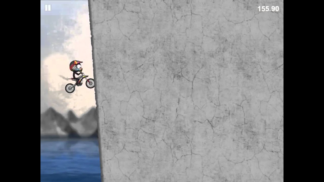 Stickman Downhill Motocross The Indestructible Bike At Its Best