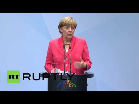 Germany: Tougher sanctions on Russia 'if situation requires' says Merkel