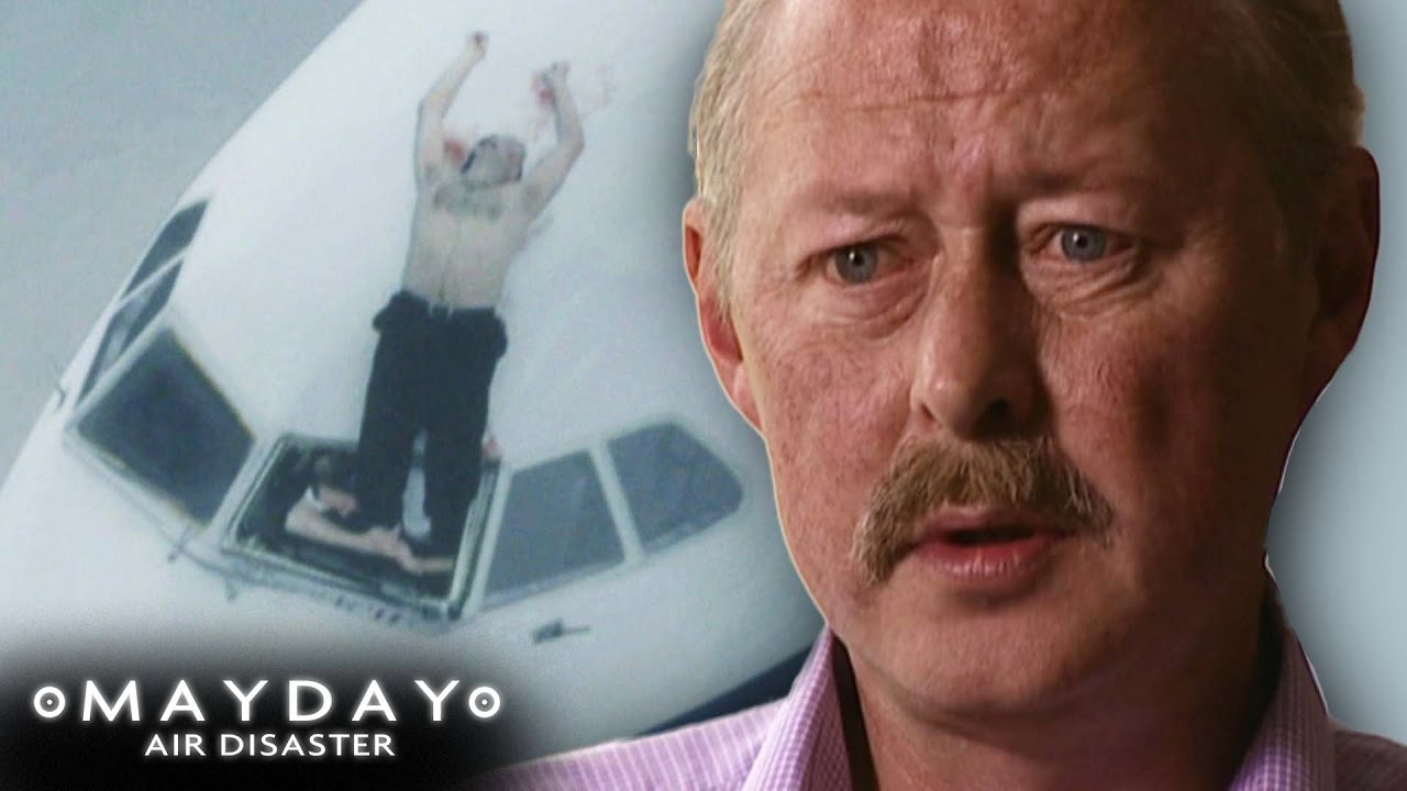 The Captain That Got Stuck Outside Of The Plane! | Blow Out | FULL EPISODE | Mayday: Air Disaster