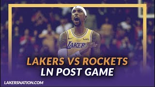 fc7840749f3 Lakers Have To Guard James Harden With Hands Behind Their Backs To ...