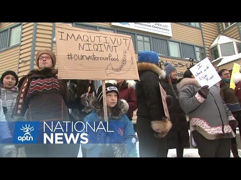 Rally In Iqaluit As Clyde River Goes Before The Supreme Court | APTN News