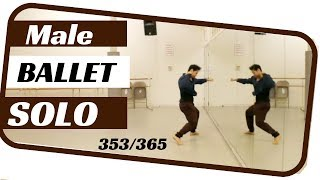 Male ballet solo- dancing everyday ballets- ballet 353