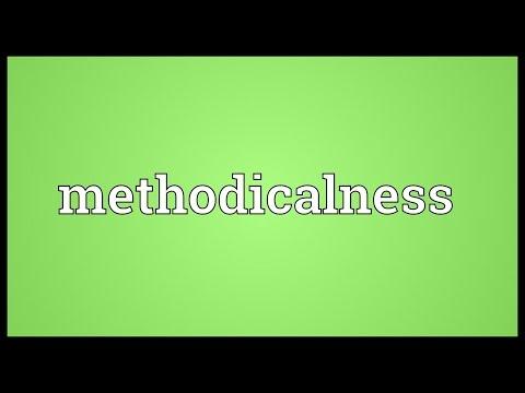 Header of methodicalness