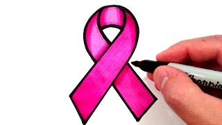 How to Draw a Pink Ribbon Mp3