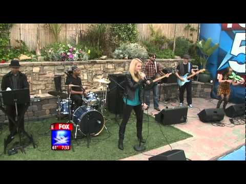 Shelby Reese Performing on Fox 5 San Diego