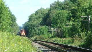 CN 8817 at Lake St.  John (18JUL2010)