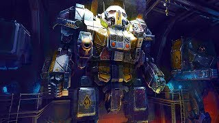 BATTLETECH 25 Minutes of Gameplay Demo (New MECH Strategy Game 2018)