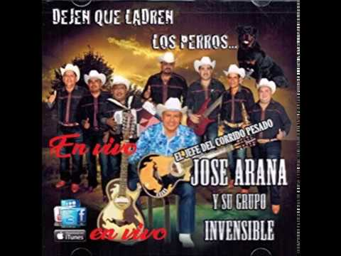 Jose Arana y su grupo invencible en vivo en la calera guerrero
