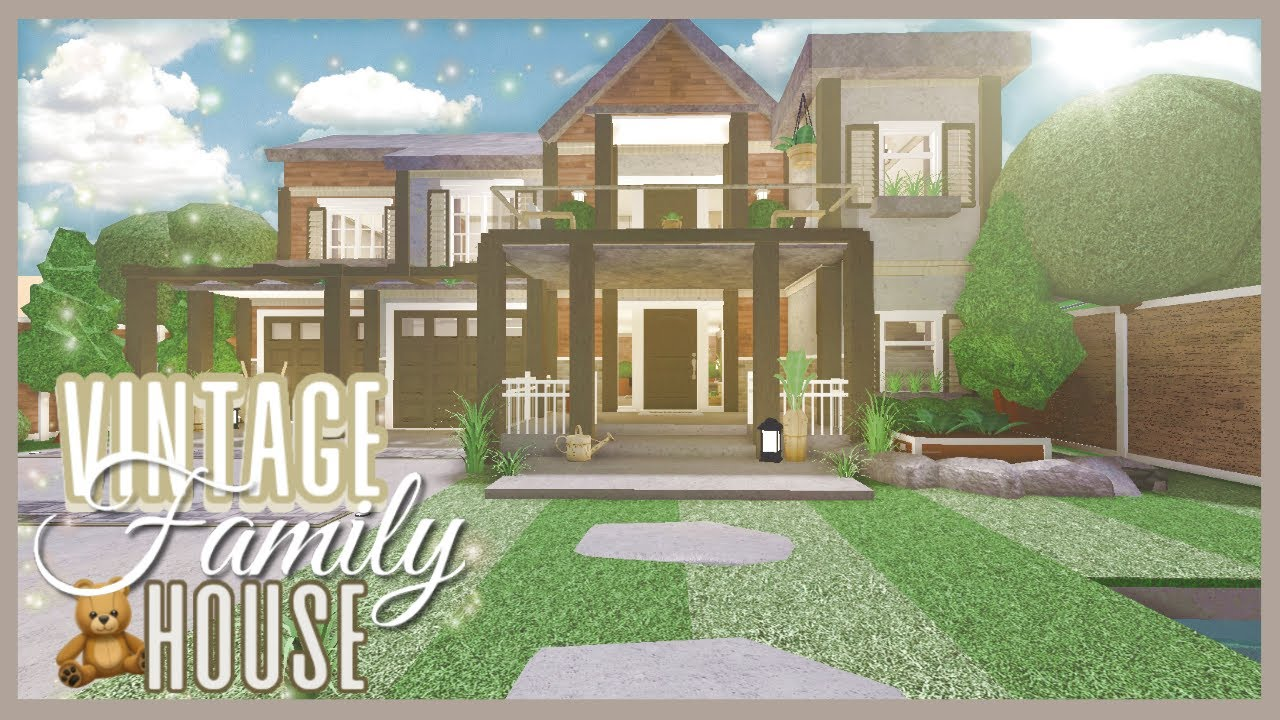 Bloxburg Vintage Family House Speed Build Youtube See more ideas about home building design house layouts building a house. bloxburg vintage family house speed build