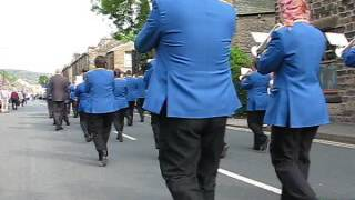 City of Chester Whit Friday 2017 Greenfield (Saddleworth) Walking Up