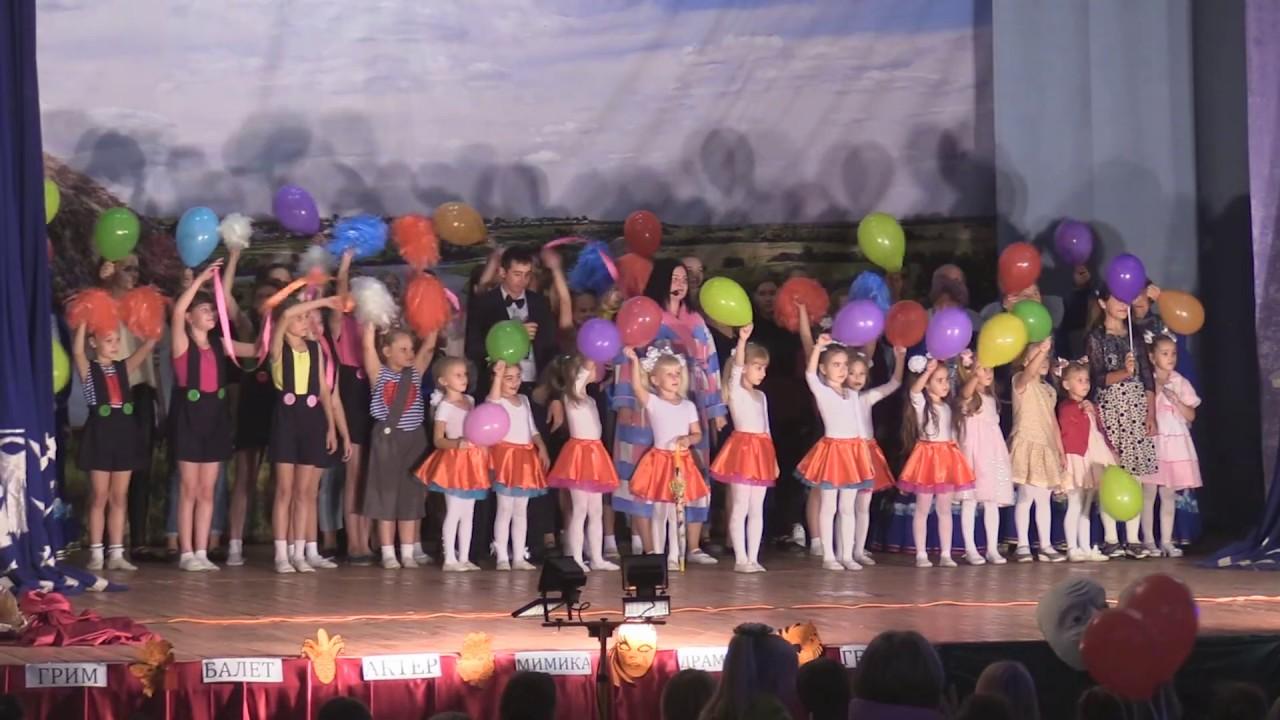 Отчетный концерт в с. Новоукраинское