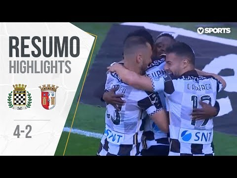 Liga (33ªJ): Resumo Boavista FC 4-2 SC Braga