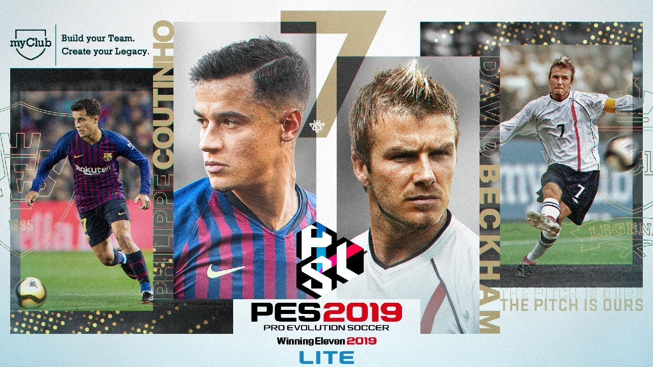 PS4『PRO EVOLUTION SOCCER 2019 LITE』宣傳影片