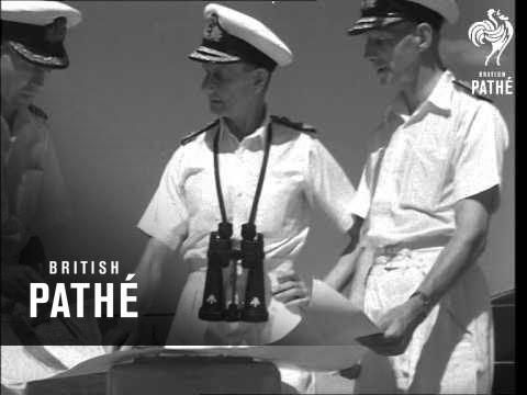British Fleet In Mauritius. (1946)