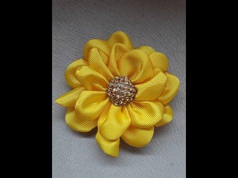 Flor de gorgurão  para por no elástico...