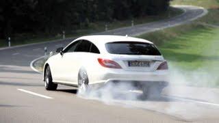 AMG CLS 63 Shooting Brake. Niche Car Porn - /CHRIS HARRIS ON CARS