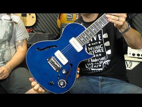 Epiphone 2015 Blueshawk Deluxe Guitar Demo