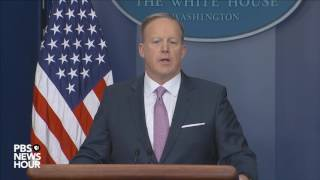 Watch Sean Spicer