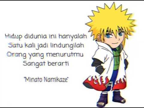 Story Wa Anime Naruto Kata Kata Minato Youtube