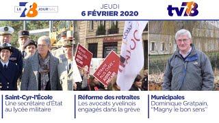 7/8 Le Journal. Edition du 6 février 2020