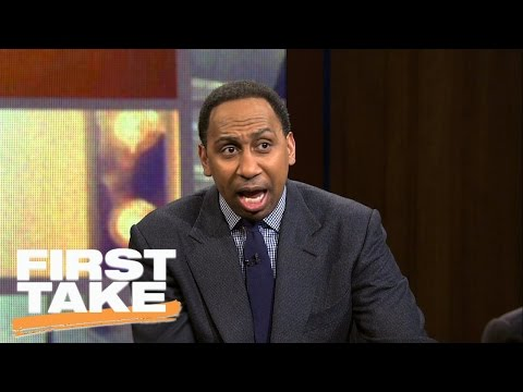 Stephen A. Smith's Epic Tony Romo Rant | First Take | April 4, 2017