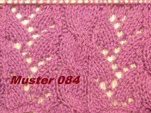 Zopfmuster 084*Stricken lernen* Muster für Pullover Strickjacke Mütze Stirnband