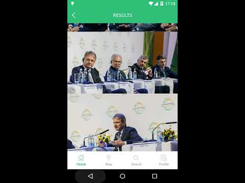 (2016) World Grain Forum Android App (developed by Owlab Inc.)