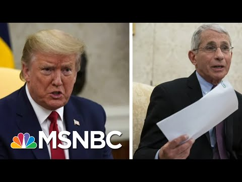 Upset By Fauci's Message On COVID-19, Trump, Right-Wing Media Attack The Messenger | MSNBC