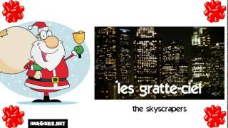 Learn French with Santa # the skyscrapers