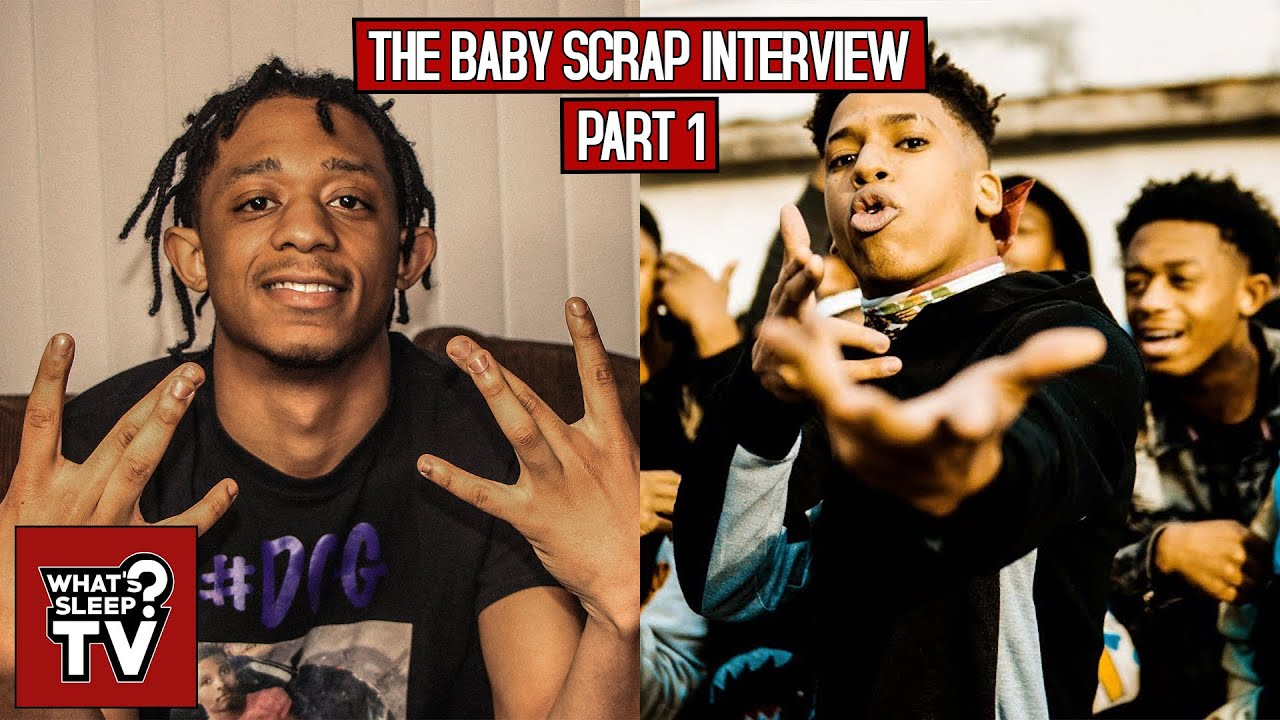 Baby Scrap Says Shotta Fam Isn't A Gang Despite How It's Portrayed + Talks NLE Choppa, & Scrap Magic