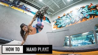 How To Hand Plant On Skis