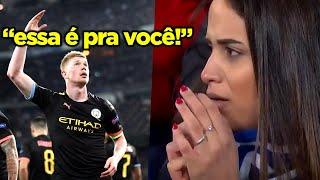 COURTOIS FICOU COM A MULHER DO DE BRUYNE E ELE SE VINGOU!! MELHORES VINGANÇAS DO FUT!!!