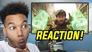 SPIDER-MAN: FAR FROM HOME - Official Teaser Trailer REACTION!