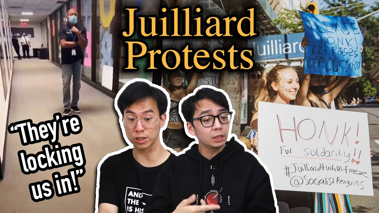 Why Juilliard Students are Protesting