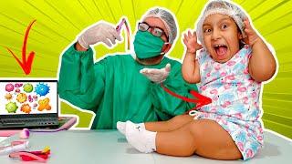 Maria Clara: A história de como é importante lavar as mãos (Wash your hands) - MC Divertida