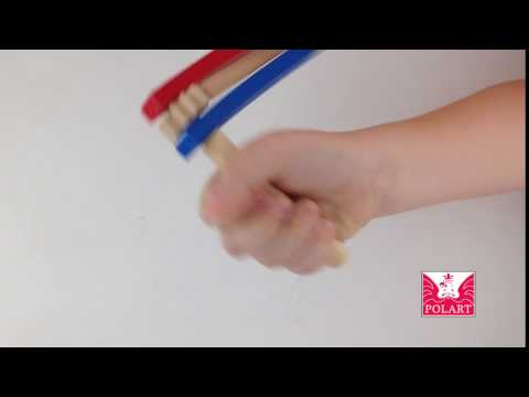 Traditional Wooden Clacker Toy