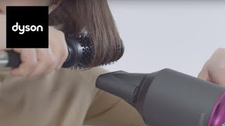 Dyson Supersonic™ hair dryer - Using the Smoothing nozzle.