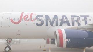 La chilena JetSMART presenta el primer avión de su flota