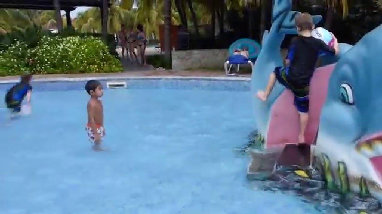 Ethan At Kid Pool Of Hotel Iberostar Ensenachos Cuba Dec 2015