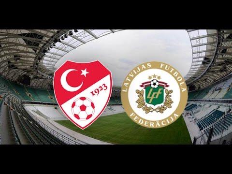 LİVE: Türkiye - Letonya :