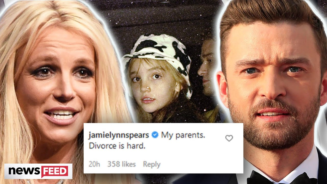 Britney Spears & Justin Timberlake's 'Divorce' Was Hard Jamie-Lynn Spears Jokes!