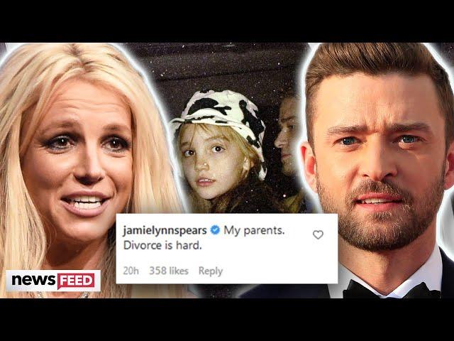 Britney Spears & Justin Timberlake\'s \'Divorce\' Was Hard Jamie-Lynn Spears Jokes!