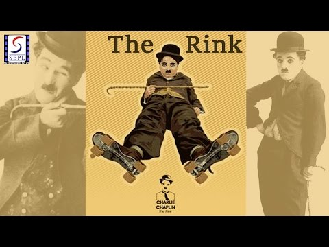 Charlie Chaplin l The Rink l Funny Silent Comedy Film (1916)