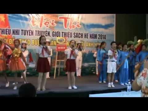 Hội thi giới thiệu sách trường tiểu học Hoàng Diệu thành phố Thái Bình