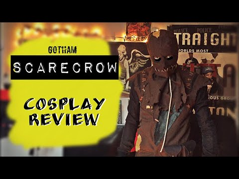 Scarecrow Cosplay Review - Gotham Season 3-5