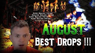 Diablo 2 - Best Drops August 2018 !!!