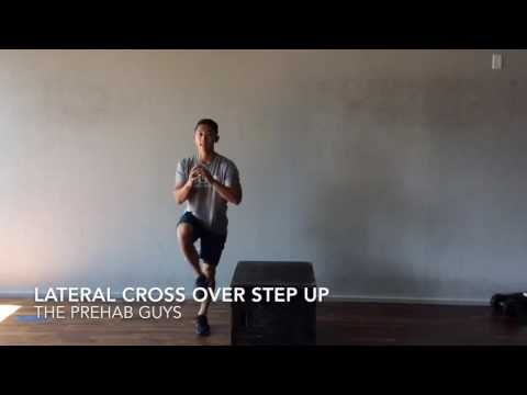 Cross Over Lateral Step Up